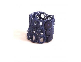 Khmer Creations Crochet Cuff