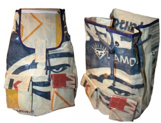 Backpack: Diamond Recycled